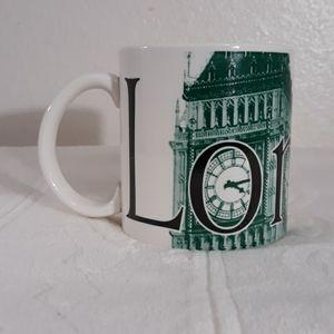 Starbucks London 2002 City Mug Collector Series
